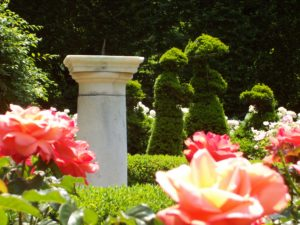 sundial-and-topiaries